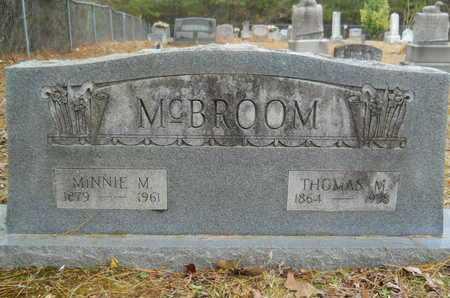 ARRANT MCBROOM, MINNIE M - Union County, Louisiana   MINNIE M ARRANT MCBROOM - Louisiana Gravestone Photos