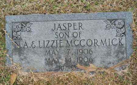 MCCORMICK, JASPER - Union County, Louisiana | JASPER MCCORMICK - Louisiana Gravestone Photos