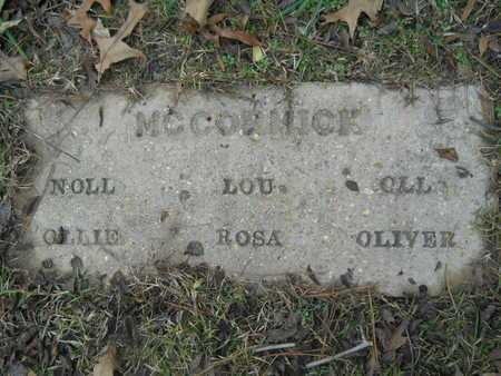 MCCORMICK, OLLIE - Union County, Louisiana | OLLIE MCCORMICK - Louisiana Gravestone Photos