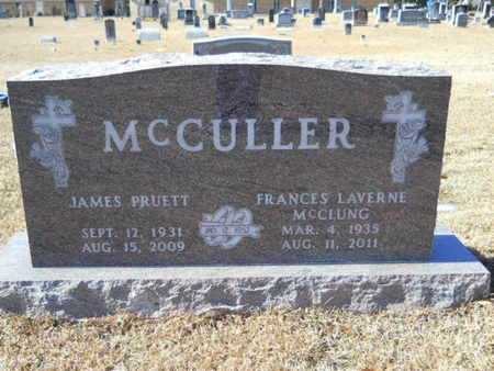 MCCLUNG MCCULLER, FRANCES LAVERNE - Union County, Louisiana | FRANCES LAVERNE MCCLUNG MCCULLER - Louisiana Gravestone Photos