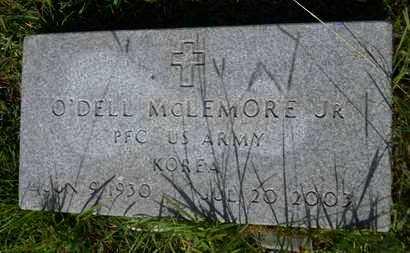 MCLEMORE, O'DELL, JR (VETERAN KOR) - Union County, Louisiana | O'DELL, JR (VETERAN KOR) MCLEMORE - Louisiana Gravestone Photos