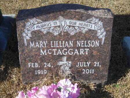 NELSON MCTAGGART, MARY LILLIAN - Union County, Louisiana | MARY LILLIAN NELSON MCTAGGART - Louisiana Gravestone Photos