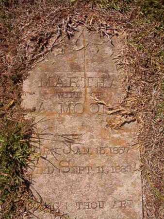 MOORE, MARTHA - Union County, Louisiana | MARTHA MOORE - Louisiana Gravestone Photos