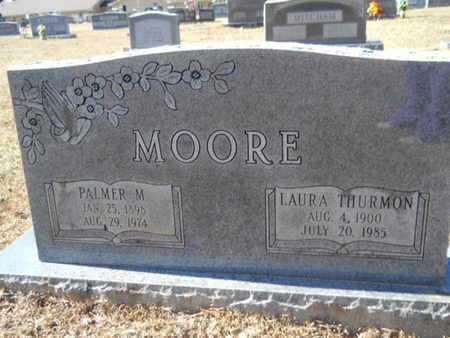 THURMON MOORE, LAURA - Union County, Louisiana | LAURA THURMON MOORE - Louisiana Gravestone Photos