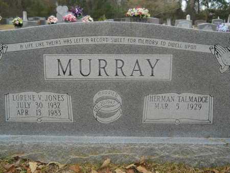 JONES MURRAY, LORENE V - Union County, Louisiana   LORENE V JONES MURRAY - Louisiana Gravestone Photos