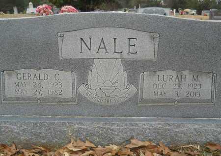 NALE, GERALD C - Union County, Louisiana   GERALD C NALE - Louisiana Gravestone Photos