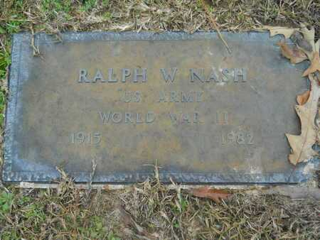 NASH, RALPH WILSON (VETERAN WWII) - Union County, Louisiana | RALPH WILSON (VETERAN WWII) NASH - Louisiana Gravestone Photos