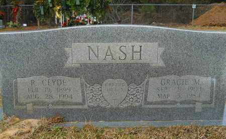 NASH, GRACIE M - Union County, Louisiana   GRACIE M NASH - Louisiana Gravestone Photos