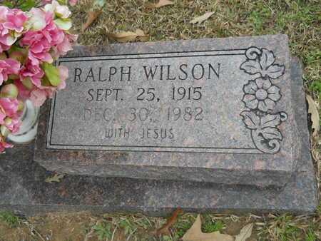 NASH, RALPH WILSON (CLOSE UP) - Union County, Louisiana | RALPH WILSON (CLOSE UP) NASH - Louisiana Gravestone Photos