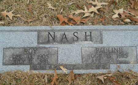 NASH, ROY - Union County, Louisiana | ROY NASH - Louisiana Gravestone Photos