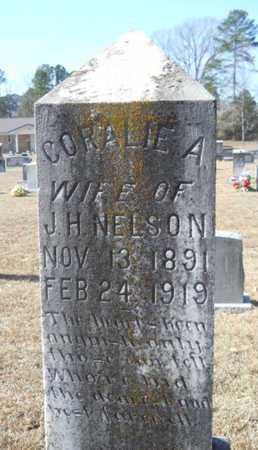 NELSON, CORALIE A - Union County, Louisiana | CORALIE A NELSON - Louisiana Gravestone Photos