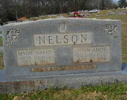 NELSON, JOHN AMOS - Union County, Louisiana   JOHN AMOS NELSON - Louisiana Gravestone Photos