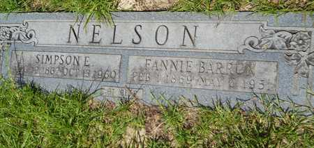 NELSON, FANNIE - Union County, Louisiana | FANNIE NELSON - Louisiana Gravestone Photos