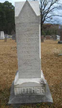 NOLAN, FANNIE A - Union County, Louisiana | FANNIE A NOLAN - Louisiana Gravestone Photos