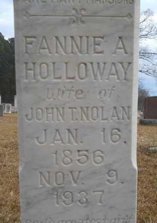 NOLAN, FANNIE A (CLOSE UP) - Union County, Louisiana   FANNIE A (CLOSE UP) NOLAN - Louisiana Gravestone Photos