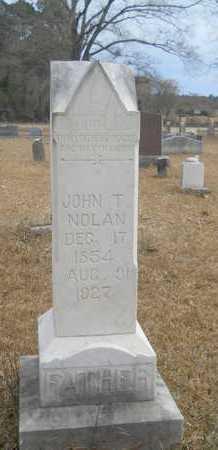 NOLAN, JOHN T - Union County, Louisiana   JOHN T NOLAN - Louisiana Gravestone Photos