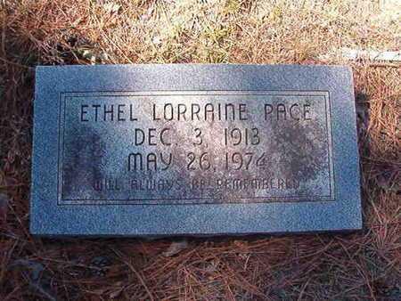 PACE, ETHEL LORRAINE - Union County, Louisiana | ETHEL LORRAINE PACE - Louisiana Gravestone Photos