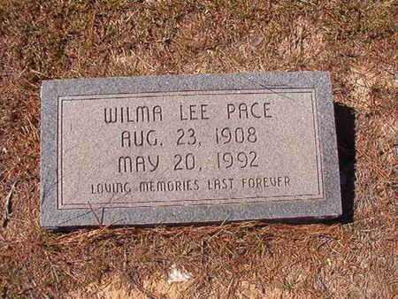 PACE, WILMA LEE - Union County, Louisiana | WILMA LEE PACE - Louisiana Gravestone Photos