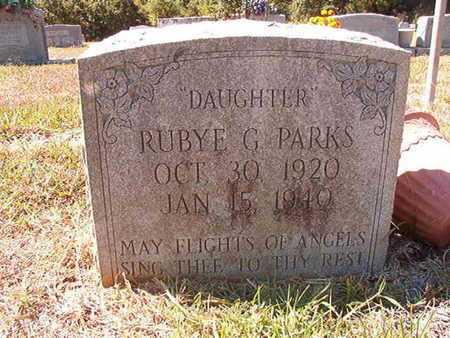 PARKS, RUBY G - Union County, Louisiana   RUBY G PARKS - Louisiana Gravestone Photos