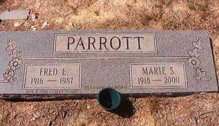 PARROTT, FRED E - Union County, Louisiana | FRED E PARROTT - Louisiana Gravestone Photos