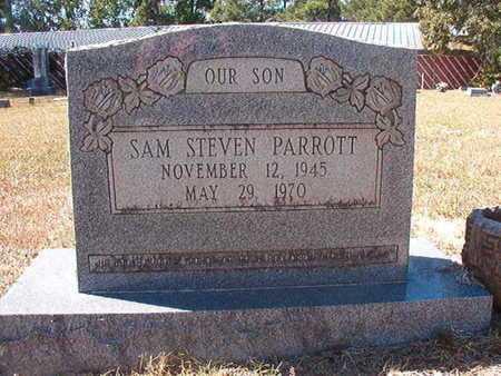 PARROTT, SAM STEVEN - Union County, Louisiana | SAM STEVEN PARROTT - Louisiana Gravestone Photos