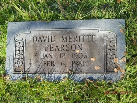 PEARSON, DAVID MERITTE - Union County, Louisiana | DAVID MERITTE PEARSON - Louisiana Gravestone Photos