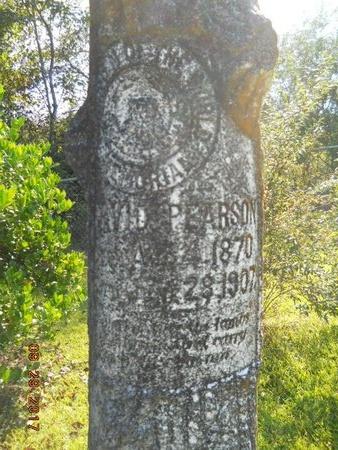PEARSON, DAVID (CLOSE UP) - Union County, Louisiana | DAVID (CLOSE UP) PEARSON - Louisiana Gravestone Photos
