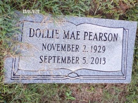 PEARSON, DOLLIE MAE - Union County, Louisiana | DOLLIE MAE PEARSON - Louisiana Gravestone Photos