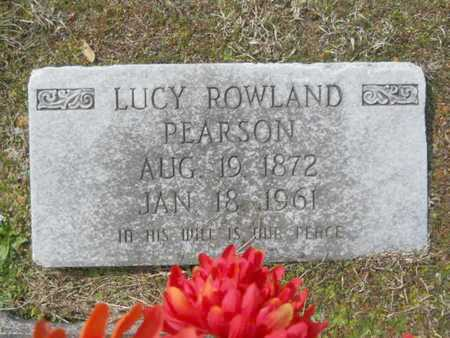 PEARSON, LUCY - Union County, Louisiana | LUCY PEARSON - Louisiana Gravestone Photos