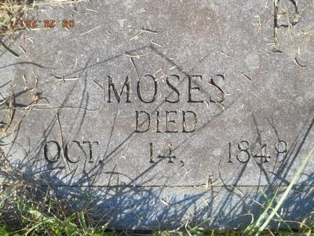 PEARSON, MOSES (CLOSE UP) - Union County, Louisiana   MOSES (CLOSE UP) PEARSON - Louisiana Gravestone Photos