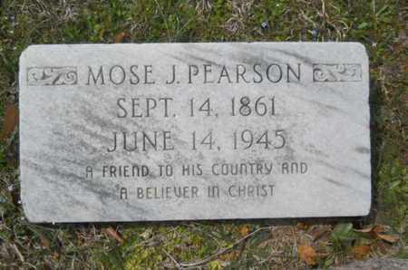 PEARSON, MOSE J - Union County, Louisiana | MOSE J PEARSON - Louisiana Gravestone Photos