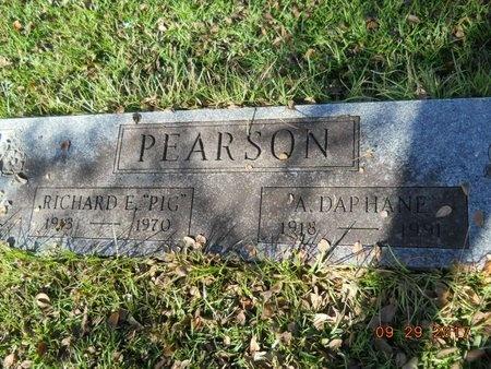 PEARSON, ALICE DAPHANE - Union County, Louisiana   ALICE DAPHANE PEARSON - Louisiana Gravestone Photos