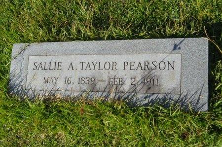 "PEARSON, SARAH ANN ""SALLIE"" - Union County, Louisiana | SARAH ANN ""SALLIE"" PEARSON - Louisiana Gravestone Photos"