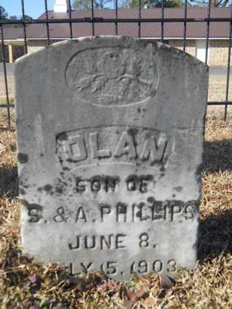 PHILLIPS, OLAN - Union County, Louisiana   OLAN PHILLIPS - Louisiana Gravestone Photos