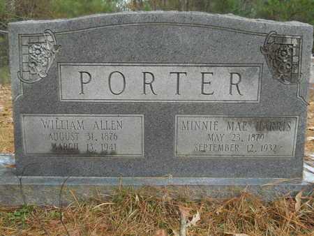 HARRIS PORTER, MINNIE MAE - Union County, Louisiana | MINNIE MAE HARRIS PORTER - Louisiana Gravestone Photos