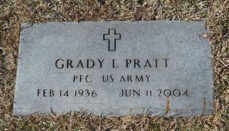 PRATT, GRADY L (VETERAN) - Union County, Louisiana | GRADY L (VETERAN) PRATT - Louisiana Gravestone Photos