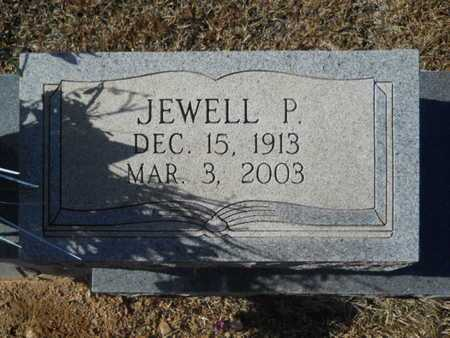 PUFFER, JEWELL P (CLOSE UP) - Union County, Louisiana | JEWELL P (CLOSE UP) PUFFER - Louisiana Gravestone Photos