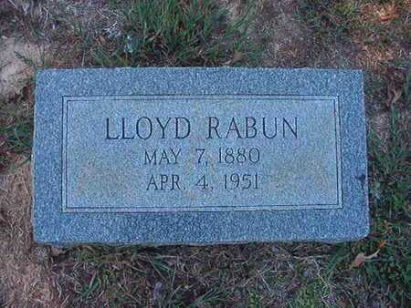 RABUN, LLOYD - Union County, Louisiana | LLOYD RABUN - Louisiana Gravestone Photos