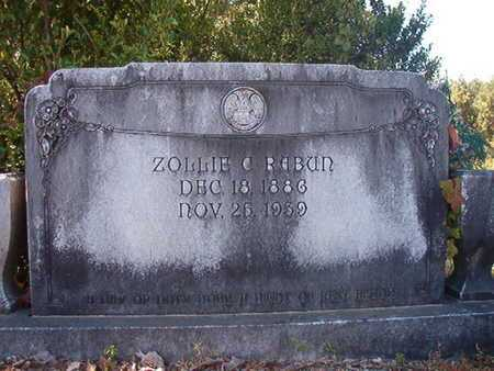 RABUN, ZOLLIE C - Union County, Louisiana | ZOLLIE C RABUN - Louisiana Gravestone Photos