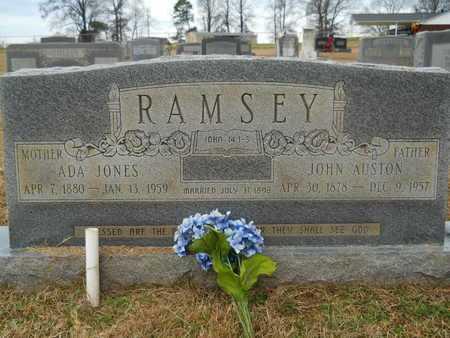 RAMSEY, JOHN AUSTON - Union County, Louisiana | JOHN AUSTON RAMSEY - Louisiana Gravestone Photos