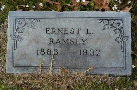 RAMSEY, ERNEST LUZON - Union County, Louisiana   ERNEST LUZON RAMSEY - Louisiana Gravestone Photos