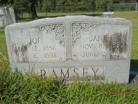 RAMSEY, JANE - Union County, Louisiana | JANE RAMSEY - Louisiana Gravestone Photos