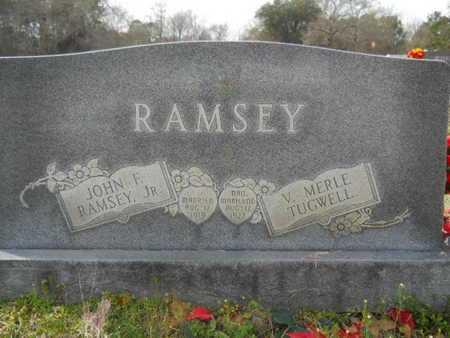 RAMSEY, JOHN F, JR - Union County, Louisiana | JOHN F, JR RAMSEY - Louisiana Gravestone Photos