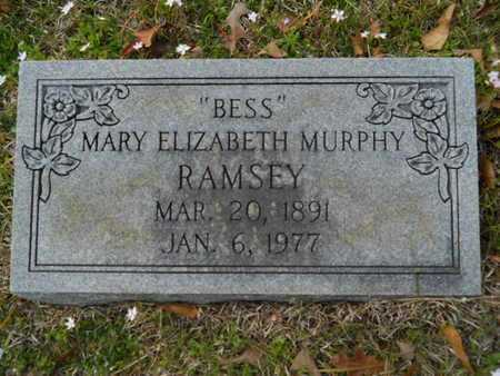 RAMSEY, MARY ELIZABETH - Union County, Louisiana | MARY ELIZABETH RAMSEY - Louisiana Gravestone Photos