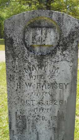 RAMSEY, MARY M - Union County, Louisiana | MARY M RAMSEY - Louisiana Gravestone Photos