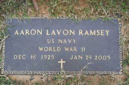RAMSEY, AARON LAVON (VETERAN WWII) - Union County, Louisiana | AARON LAVON (VETERAN WWII) RAMSEY - Louisiana Gravestone Photos