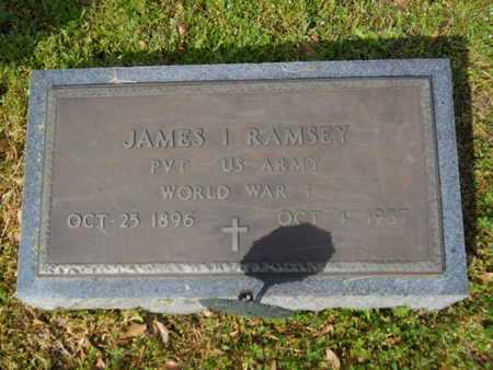 RAMSEY, JAMES I (VETERAN WWI) - Union County, Louisiana | JAMES I (VETERAN WWI) RAMSEY - Louisiana Gravestone Photos