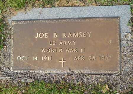 RAMSEY, JOE B (VETERAN WWII) - Union County, Louisiana | JOE B (VETERAN WWII) RAMSEY - Louisiana Gravestone Photos