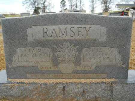 RAMSEY, OLA M - Union County, Louisiana   OLA M RAMSEY - Louisiana Gravestone Photos