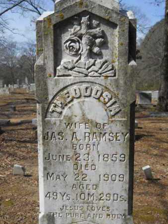 RAMSEY, THEODOSIA - Union County, Louisiana | THEODOSIA RAMSEY - Louisiana Gravestone Photos